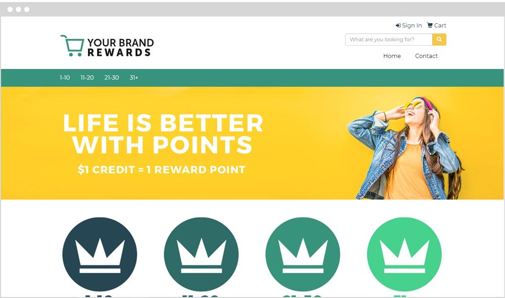 Rewards Company Store Example